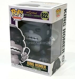 Funko-King-Homer-822-The-Simpsons-Treehouse-of-Horror-Homer-holding-Marge-Figure