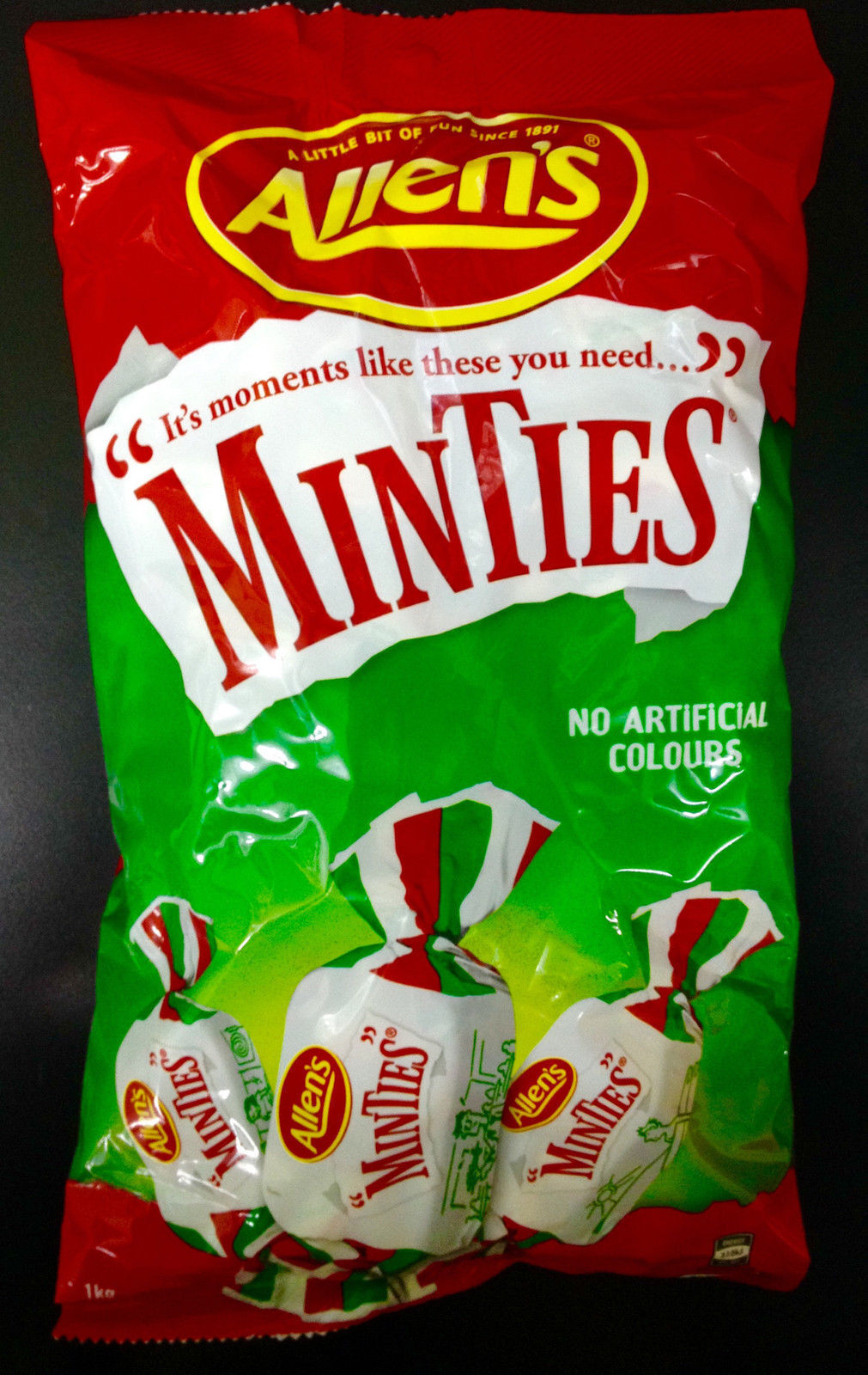 NEW Allen's Minties - 1kg Party Supplies Occasion Birthday Christmas