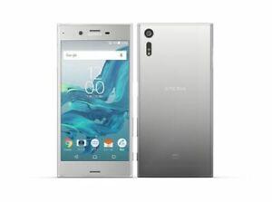 SONY-XPERIA-XZ-SOV34-AU-KDDI-Android-Phone-Smartphone-Unlocked-Japan-Silver-New