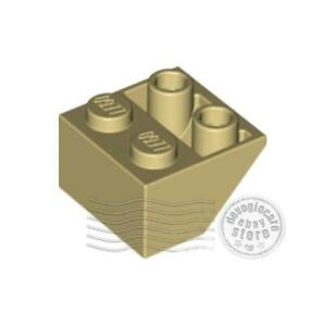 2x LEGO 3660 Inclinato inverso 45 2x2 Ocra4118866