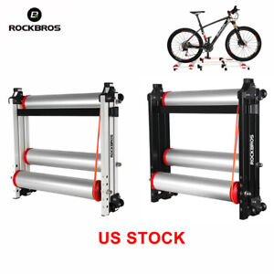 /_HUN Indoor Bike Cycling Training Rollers Foldable Parabolic Sports Rollers UPS