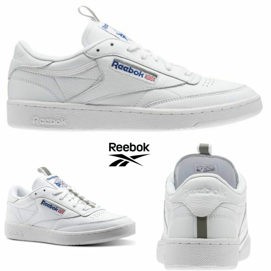 Reebok Classic Club C 85 CM9572 RT Shoes Sneakers White CM9572 85 SZ 5-12.5 Limited 2e8fd6