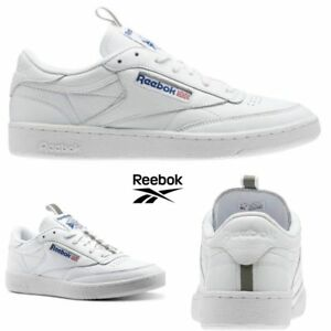 a0496d20f9a Reebok Classic Club C 85 RT Shoes Sneakers White CM9572 SZ 5-12.5 ...