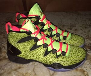 dbcd4e9af69 NIKE Jordan XX8 SE All Star Volt Yel Black Infrared Basketball Shoes ...