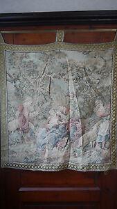 """Teppiche & Flachgewebe 90 X 94 Cm Hell In Farbe Gobelin Wandteppich """"barock"""" Gobelins"""