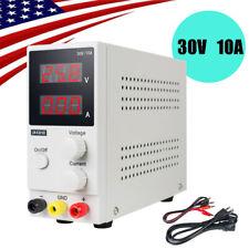 Dc Power Supply 30v 10a Precision Variable Dc Digital Adjustable Lab Led Display