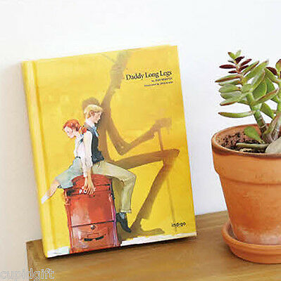 Daddy Long Legs by Jean Webster Illustration Hard Cover English Story Book