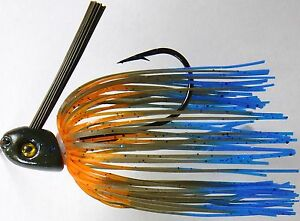 Bob4Bass Swinging Swim Jig Bluegill US012