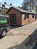 33ft x12ft  portable cabin, portable building, modular building, portable office