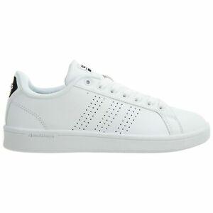 Details about Adidas Cloudfoam Advantage Clean Womens AW4323 White Black Shoes Size 6.5