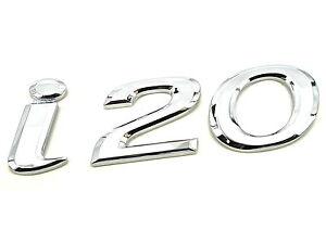Genuine New Hyundai I20 Boot Badge Emblème 2008-2014 Style Confort Crdi Crdt-afficher Le Titre D'origine