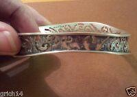 Silpada Sterling Silver Wavy, Oval Bangle Bracelet B2082