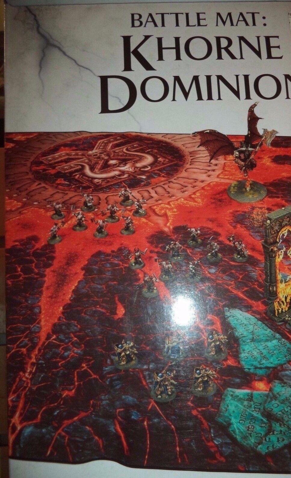 slåss Mat  Khorne Dominion Warhammer Age of Sigmar 40k spel arbetarhop 40,000 New