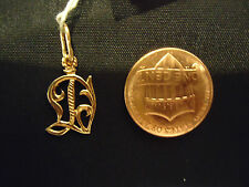 New Vintage  Russian Gold  Rose Gold Pendant Zodiac Sign Virgo