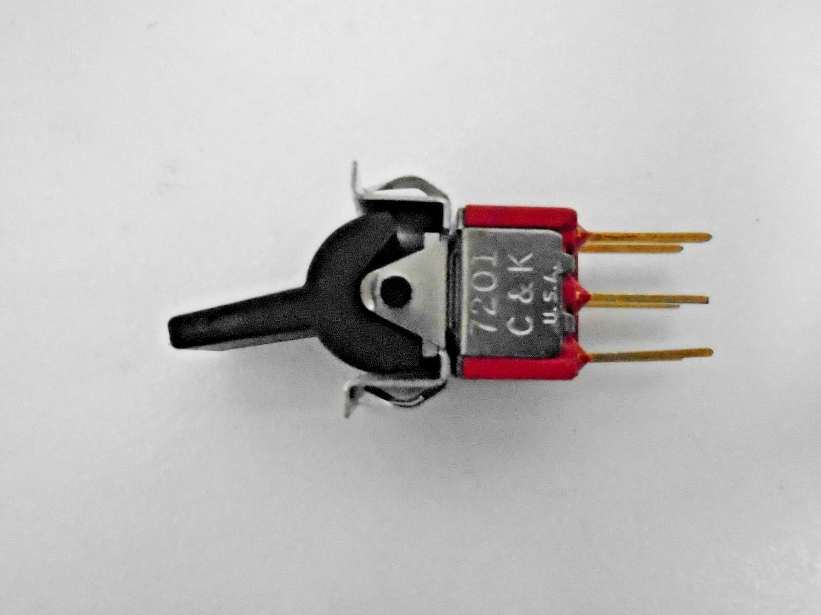 8x On Dpdt Mini Toggle Switch Ck 7201 Ebay Switches Specialty Circuit