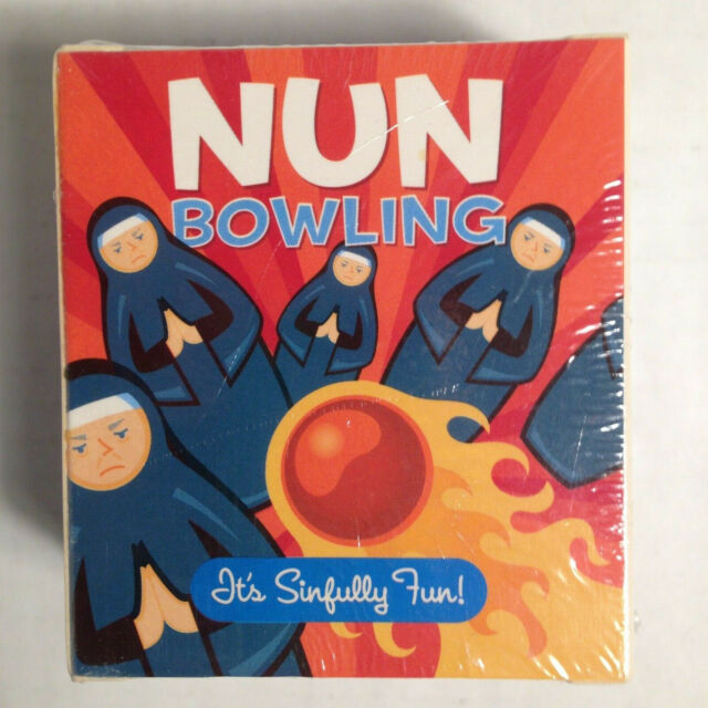 Nun Bowling Game Complete Running Press New Mega Mini Kit For Sale Online Ebay