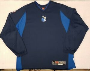 huge selection of 038c4 89cd4 Details about Dallas Mavericks Jersey XL Sewn Long sleeve Warm Up Nike NBA