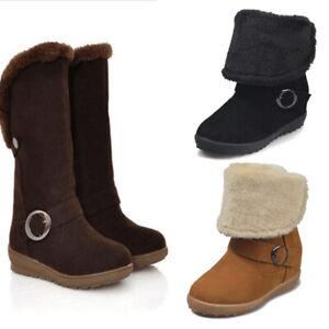 damen hochwertiges Design günstig kaufen Details zu Damen Winterstiefel Gefütterte Stiefel Winter Warm Schuhe  Snowboots Schneeschuhe