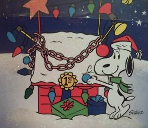 image is loading hallmark peanuts snoopy christmas cards his decorated dog