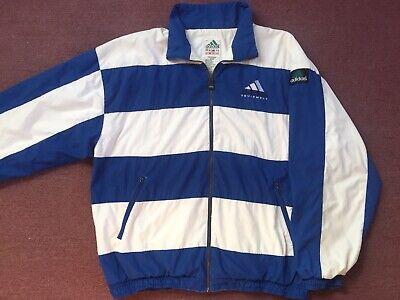 90s vintage Adidas navy & blue coat Size medium