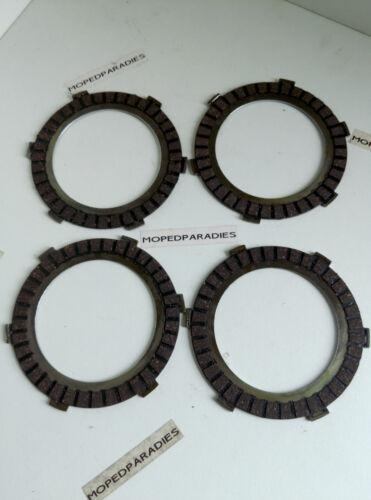 Zündapp 4 x Kupplung Reiblamelle 265-06.135 50ccm C 50 Super Typ 441
