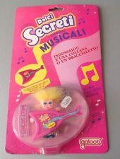 Vintage Galoob Sweet Secrets  musical Doll Necklace & bracelet#MOSC