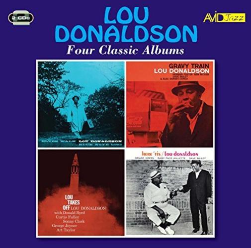 LOU DONALDSON-FOUR CLASSIC ALBUMS (BLUES WALK / GRAVY TRAIN / (UK IMPORT) CD NEW