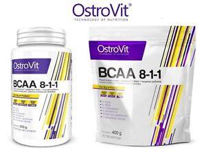 Ostrovit-BCAA-8-1-1-200g-400g-polvere-Branch-Chain-Amino