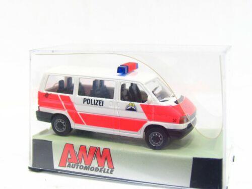 Awm 1//87 72186 VW t4 furgoneta policía zurich suiza embalaje original kv5198