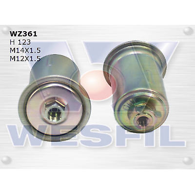 WESFIL FUEL FILTER MAGNA 1991-1996 WZ361
