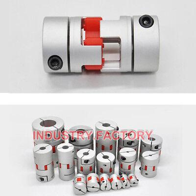 D30xL35mm Shaft Coupler Flexible Plum Coupling CNC Stepper Motor Jaw 3D Printer