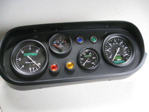 RALLY,GRP4 ESCORT MK1,MK2,RACETECH 80mm REV COUNTER 10000rpm TACHOMETER