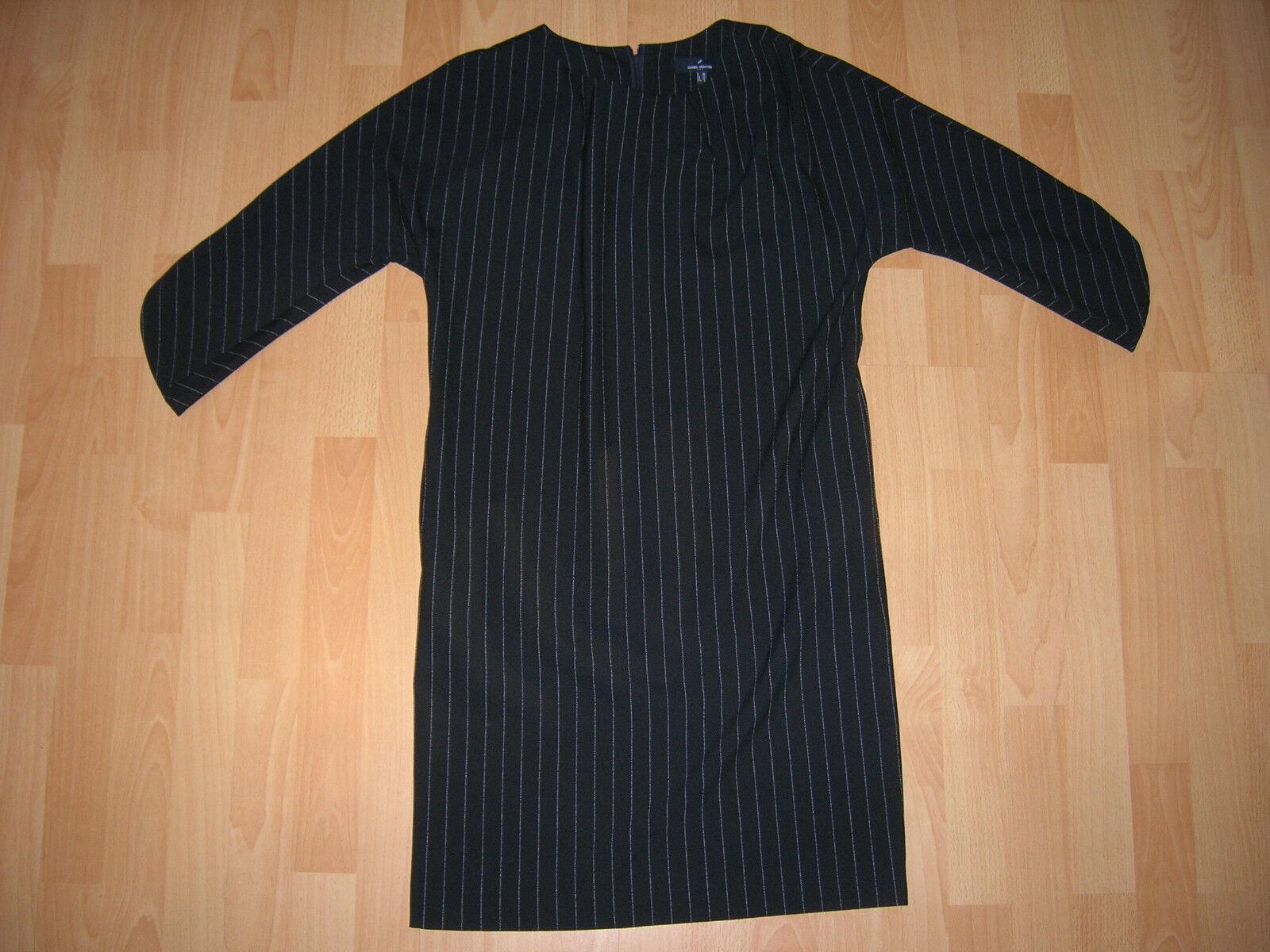 NEU - Tolles schwarzes Kleid mit Streifen von Daniel Hechter Gr. 36