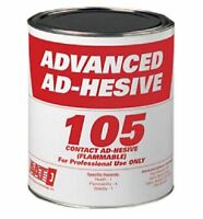 Woven Marine Vinyl Carpet Glue Adhesive Rv / Outdoor - (1) Gallon - Aat 105