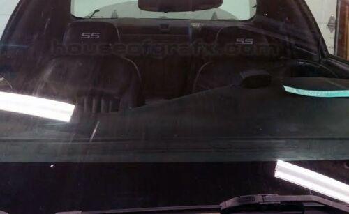 Chevy Cobalt Impala Trailblazer SS headrest head rest decal decals sticker