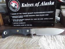 "KNIVES OF ALASKA 9 1/2"" MAGNUM ALASKAN D2 TOOL STEEL SURE GRIP HANDLE #157FG"