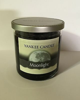 YANKEE CANDLE MOONLIGHT BLACK SOY WAX CANDLE MANLY 7 OZ ...
