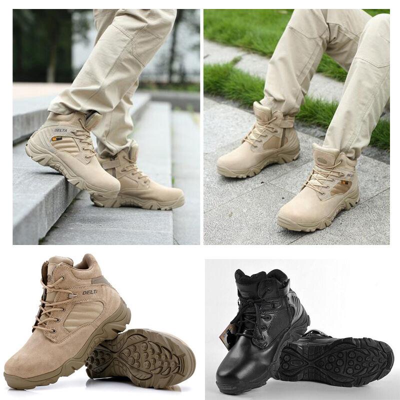 Armee - mens stiefel bequem taktischem kämpfen militär knöchel bequem stiefel outdoor - wüste wanderschuhe 6caab4