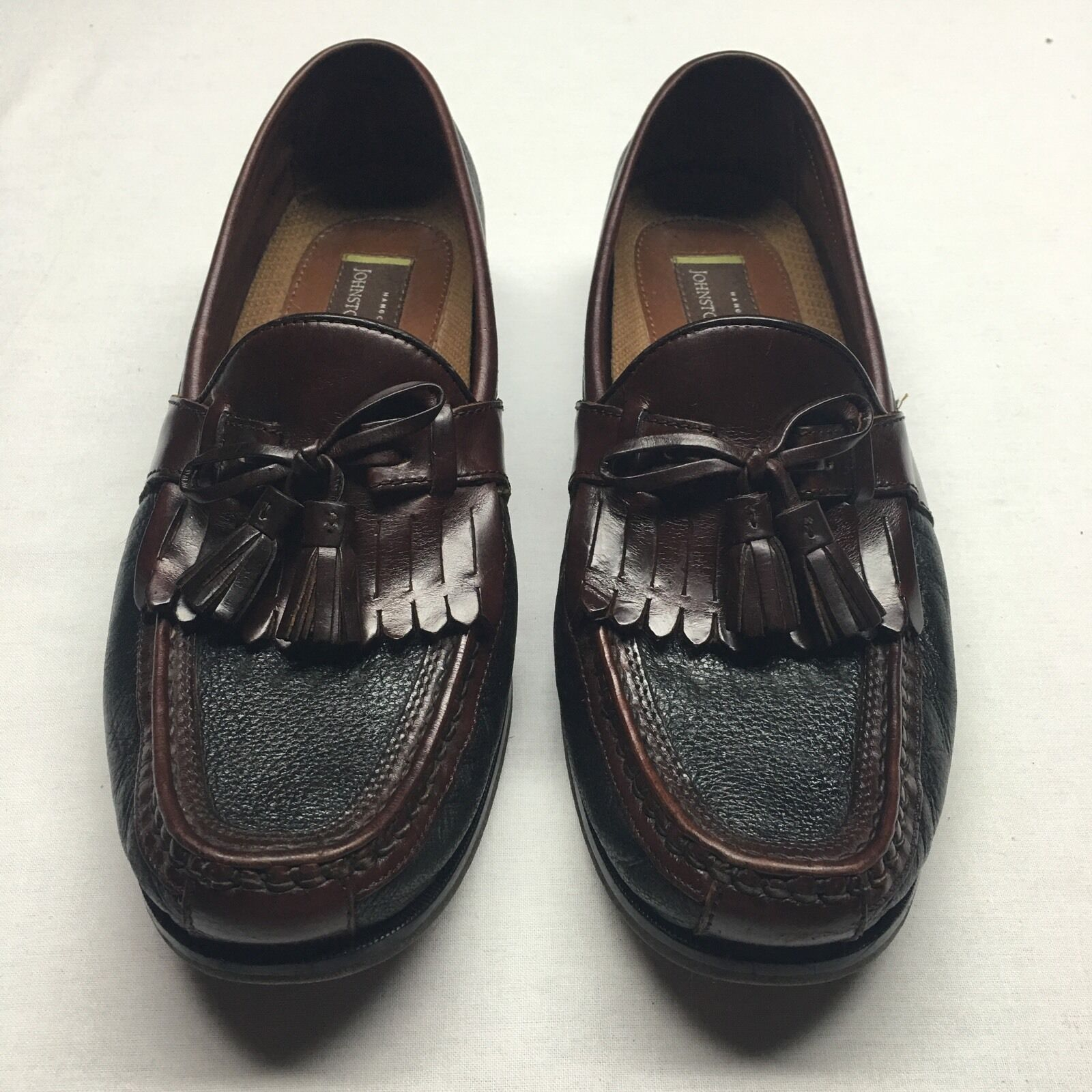 Johnston & Murphy Men's Leather Dress Loafers 8.5