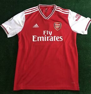 Aubameyang Jersey Arsenal Home Kit 2019 20 Size Large New With Tags Ebay