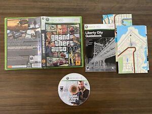 Grand Theft Auto IV [4] w/ Poster Map (Microsoft Xbox 360) [Complete In Box]