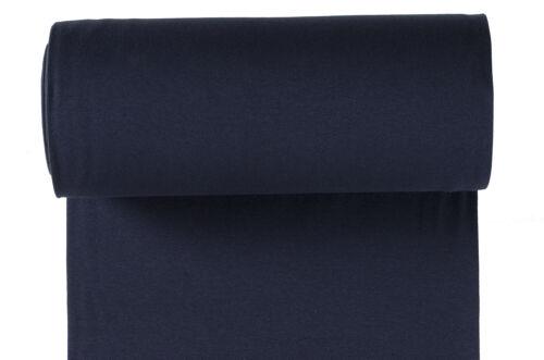 Bündchen navy  ÖKO TEX  dunkelblau blau