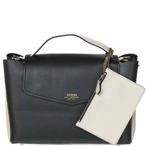 GUESS Damen Überschlagtasche Ella black