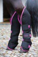 Horseware Amigo Travel Boots - Black/grey/navy/chocolate/blue - Pony/cob/horse