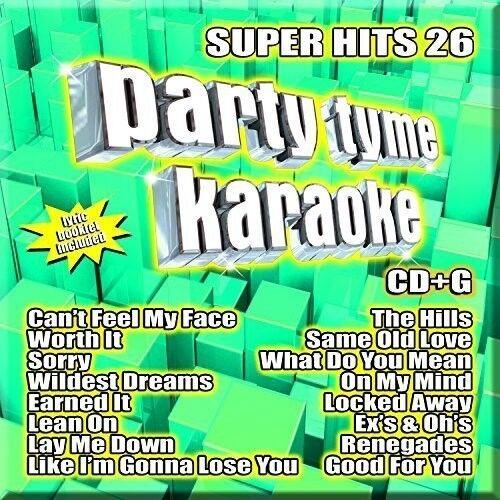 Various Artists - Party Tyme Karaoke: Super Hits 26 [New CD]