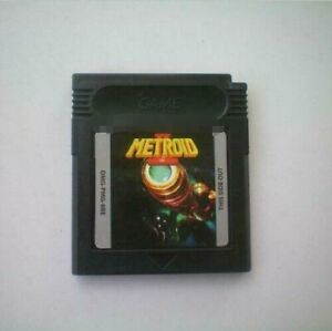 Game Boy Color Gbc Cartridge Console Metroid II DX US Version