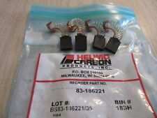 NEW OLD STOCK BAG OF 4 HELWIG CARBON MOTOR BRUSHES 13-501591