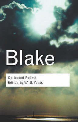 1 of 1 - Collected Poems by William Blake .Edited by W B Yeats....VGC
