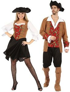 image is loading couples ladies and mens red posh pirate halloween