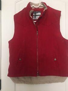Lined de Jacket femmes Roper pour Vest Vêtements L par travail Womens Sz FW00n